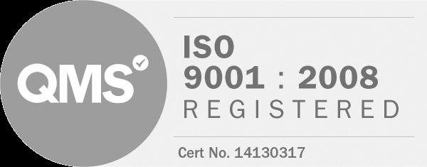 QMS ISO 9001:2004 Registered