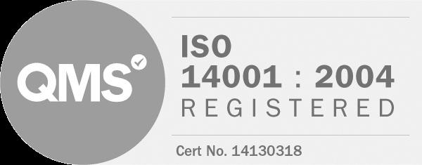 QMS ISO 14001:2004 Registered